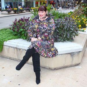 London Times Dresses - London Times Digital Print Floral Dress - sz 18